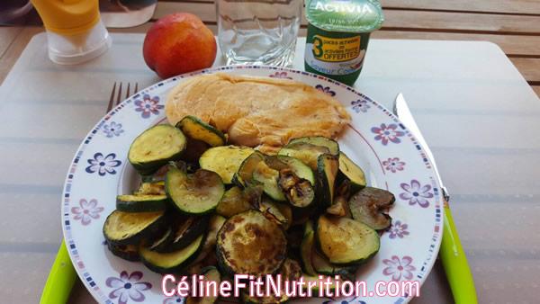assiette légumes
