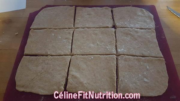 Pains au chocolat briochés vegan sans lactose
