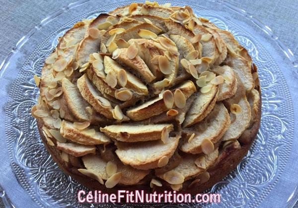 Moelleux aux pommes healthy sans matière grasse