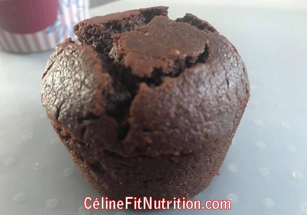 Muffins chocolat beurre de cacahuètes healthy et vegan