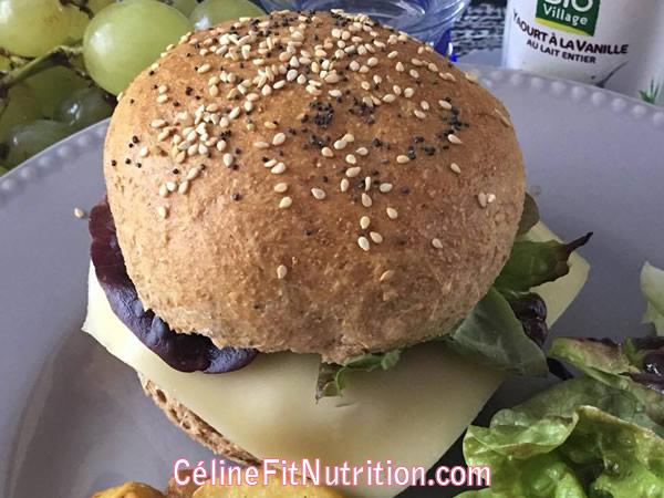 Pains à burgers maison healthy