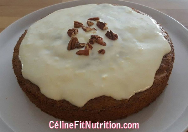 Carrot cake healthy et léger