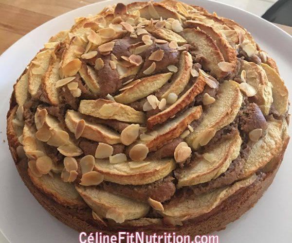 Gâteau healthy pomme noisette et épices