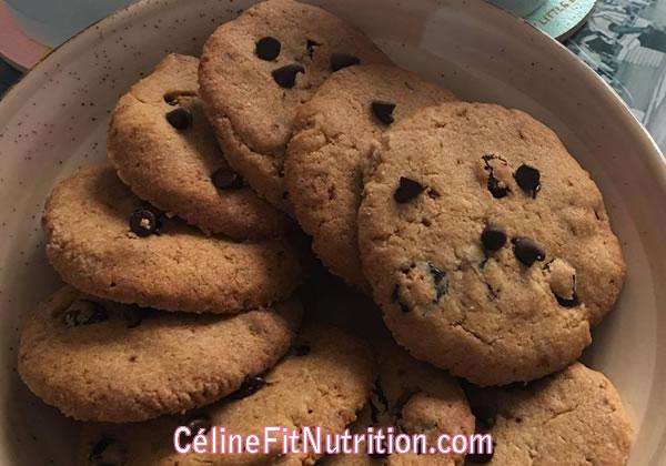 Cookies aux cranberries healthy