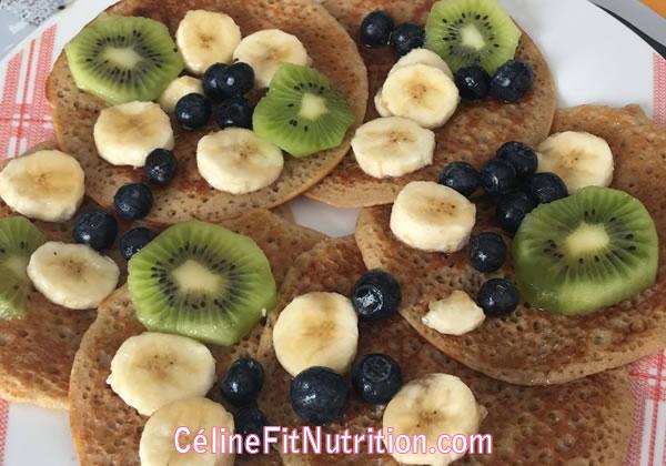 Pancakes healthy et vegan