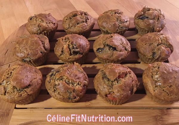 Muffins champignons tomates healthy