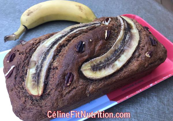 Banana bread healthy et vegan