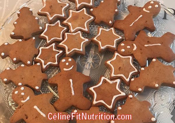 Biscuits sablés de Noël à la cannelle sans beurre