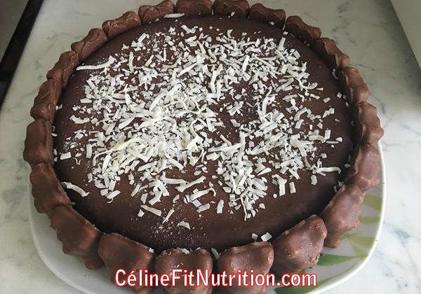 Gâteau au chocolat sans farine et sans beurre