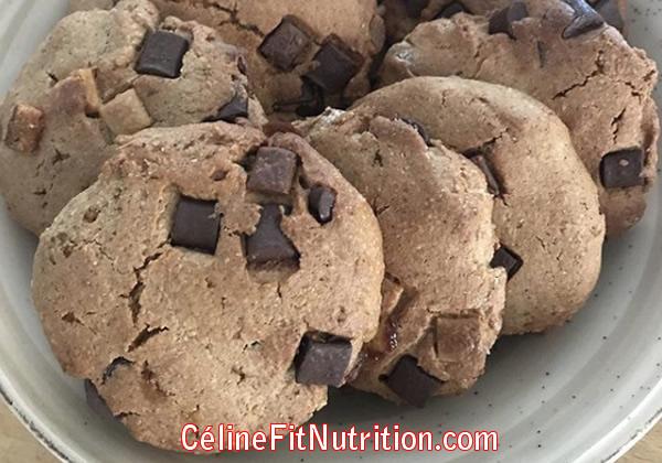 Cookies à la purée amandes noisettes