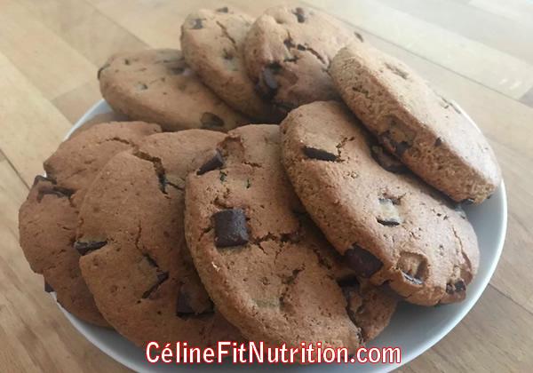 Scones aux pépites de chocolat healthy et vegan